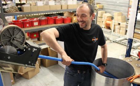 Fabrication pieuvre hydraulique Pro'Fil
